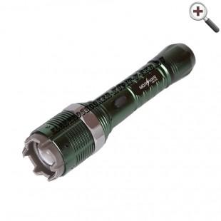 Электрошокер-фонарь Молния YB-1310 c зумом